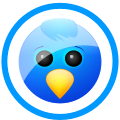 Sn, social network, twitter, Social DodgerBlue icon
