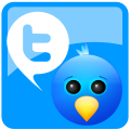 twitter, social network, Social, Sn DodgerBlue icon