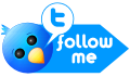Social, twitter, Follow, Me, Sn, social network DodgerBlue icon