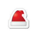 xmas, christmas Black icon