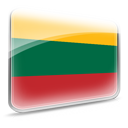 dooffy, flag, Lithuania, Design DarkSlateGray icon
