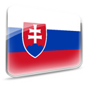 Design, dooffy, flag, Slovakia Crimson icon
