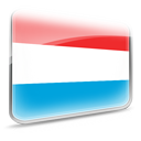 Luxembourg, flag, dooffy, Design DeepSkyBlue icon