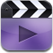 video MediumPurple icon