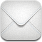Message, Email, envelop, mail, Letter Gainsboro icon