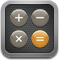 calculator, Calc, calculation DarkSlateGray icon