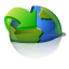 network, update OliveDrab icon