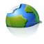 Browser, world, planet, network, earth, internet, globe OliveDrab icon