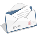 Email, envelope, Letter, Message, mail, envelop WhiteSmoke icon