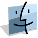 Finder SlateGray icon