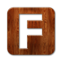square, Fark SaddleBrown icon