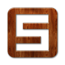 square, spurl, Logo SaddleBrown icon