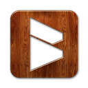Logo, blogmarks, square SaddleBrown icon