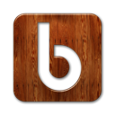 Logo, yahoo, Buzz, wood, square SaddleBrown icon