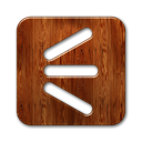 shoutwire, Logo, square SaddleBrown icon