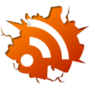 feed, subscribe, inside, Rss OrangeRed icon