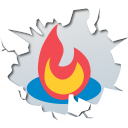 Feedburner, inside Black icon