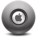 Logo, Apple DarkSlateGray icon