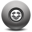 dropbox DarkSlateGray icon
