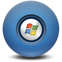 window SteelBlue icon
