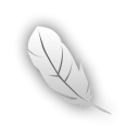 Feather, photoshop, Ps Black icon