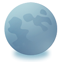 Browser, globe, planet, earth, Moon LightSlateGray icon