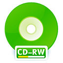 Cd, Disk, disc, Rw, save LimeGreen icon