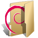 Debian, Folder BurlyWood icon