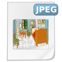 Jpeg, jpg WhiteSmoke icon