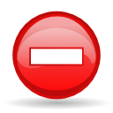 Critical, message box Firebrick icon