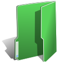 Folder, green MediumSeaGreen icon