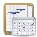 calculator, Calc, calculation WhiteSmoke icon