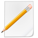 Pen, document, Edit, paper, File, Draw, paint, write, writing, pencil WhiteSmoke icon