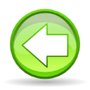 previous, Arrow, Left, prev, Backward, Back GreenYellow icon