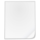 mime, Blank, Empty WhiteSmoke icon