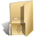 Folder, Tar BurlyWood icon