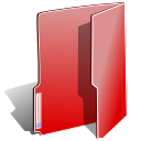 red, Folder IndianRed icon