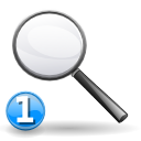 zoom, Viewmag, Find, search, seek WhiteSmoke icon