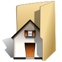 Folder, house, Home, Building, homepage BurlyWood icon