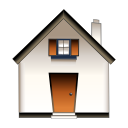 homepage, house, kfm, Building, Home Snow icon