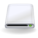 hard drive GhostWhite icon