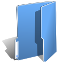 Blue, Folder CornflowerBlue icon