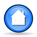 homepage, Building, Home, house, go home CornflowerBlue icon