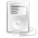 Apple, juk, ipod WhiteSmoke icon