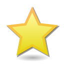 Favourite, bookmark, toolbar, star Khaki icon