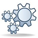 Gear DarkSlateGray icon