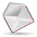 Email, envelop, mail, Kontact, Letter, Message, envelope Gainsboro icon