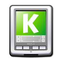 Kpilot Gray icon