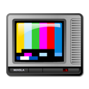 television, teletext, Tv DarkSlateGray icon