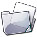 Folder, grey Lavender icon